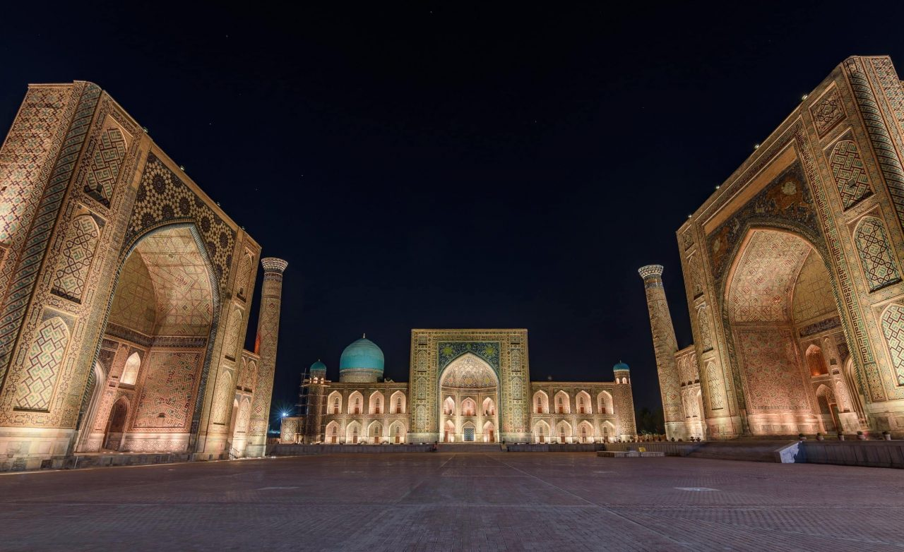 piazza registan uzbekistan samarcanda - moira viaggi